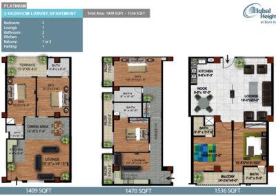 platinum 2bedroom apartment